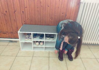 Új cipős- és öltözőszekrények